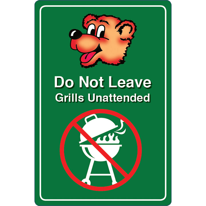 Do not Leave Grill Unattended